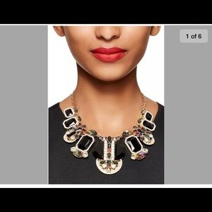 Kate spade Art Deco Gems Statement Necklace